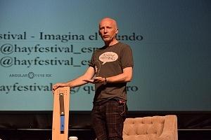 Marcus Du Sautory se presento en el Hay Festival Querétaro 2018