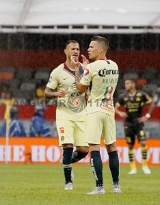 Mateus Uribe autor del gol frente a Morelia en la jornada 9 del torneo de liga mx, apertura 2018