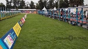 Mundial de Pentatlon Moderno, CDMX 2018 diciplina carrera-tiro, campo de tiro