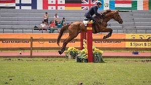 Mundial de Pentatlón Moderno, CDMX, 2018 disciplina equitación