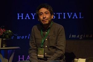 Salvador Camarena se presento en el Hay Festival 2018