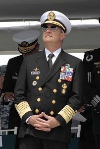 Secretario de Marina Almirante Vidal Francisco Soberón Sanz