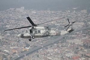 UH-60M Black Hawk durante el vuelo con motivo de la parada aérea 2018