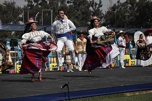 ceremonia inaugural del Campeonato Mundial de Pentatlón Moderno Ciudad de México 2018