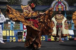 ceremonia inaugural del Campeonato Mundial de Pentatlón Moderno Ciudad de México 2018, bailes tipicos de México