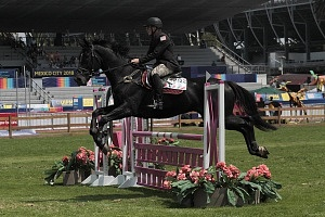 disciplina, equitación categoría femenil competidor 12 de Estados Unidos , Mundial de Pentatlón Moderno Ciudad de México 2018