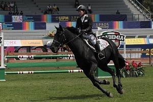 disciplina, equitación categoría femenil competidora 03 de Korea del Sur, Mundial de Pentatlón Moderno, Ciudad de México 2018