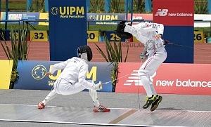 disciplina, esgrima, categoría varonil Mundial de Pentatlón Moderno Ciudad de México 2018