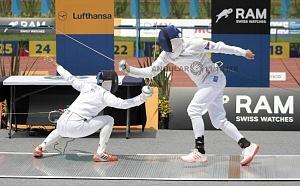 disciplina, esgrima categoría varonil Mundial de Pentatlón Moderno Ciudad de México 2018