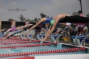 disciplina, natación, categoría femenil Mundial de Pentatlón Moderno Ciudad de México 2018
