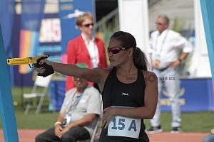 disciplina, tiro, categoría femenil, Mundial de Pentatlón Moderno Ciudad de México 2018