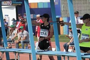 disciplina, tiro, categoría femenil representante de Japón Mundial de Pentatlón Moderno Ciudad de México 2018