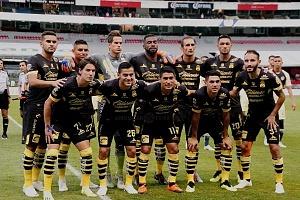 equipo inicial de Monarcas Morelia en la jornada 9 del torneo de liga apertura 2018