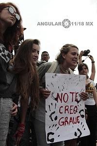 estudiantes marchan en ciudad universitaria el 5 de septiembre por el futuro de la educación y contra la violencia 5
