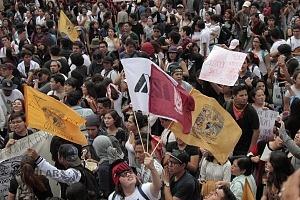 estudiantes marchan en ciudad universitaria el 5 de septiembre por el futuro de la educación y contra la violencia 7