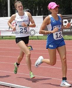 prueba individual femenil, del Campeonato Mundial de Pentatlón Moderno CDMX 2018
