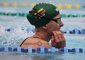 prueba individual femenil del Campeonato Mundial de Pentatlón Moderno, CDMX 2018 disciplina natación