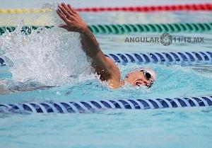 prueba individual femenil del Campeonato Mundial de Pentatlón Moderno CDMX 2018 disciplina natación