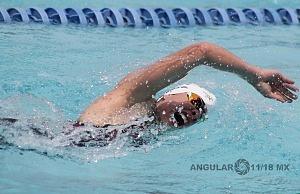 prueba individual femenil, del Campeonato Mundial de Pentatlón Moderno, CDMX 2018 disciplina, natación