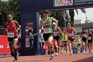 representante de MéxicoMelisa Mireles, atletismo, categoría femenil Mundial de Pentatlon Moderno Ciudad de México 2018