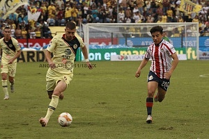 AMÉRICA y GUADALAJARA, empatan 1-1, en el Súper, Clásico Nacional
