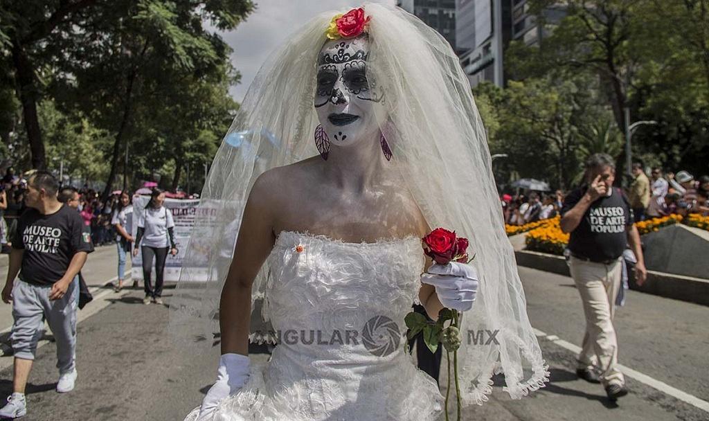 Alrededor de 200 alebrijes desfilaron por la Ciudad de México, este sábado 20 de octubre, de 2018