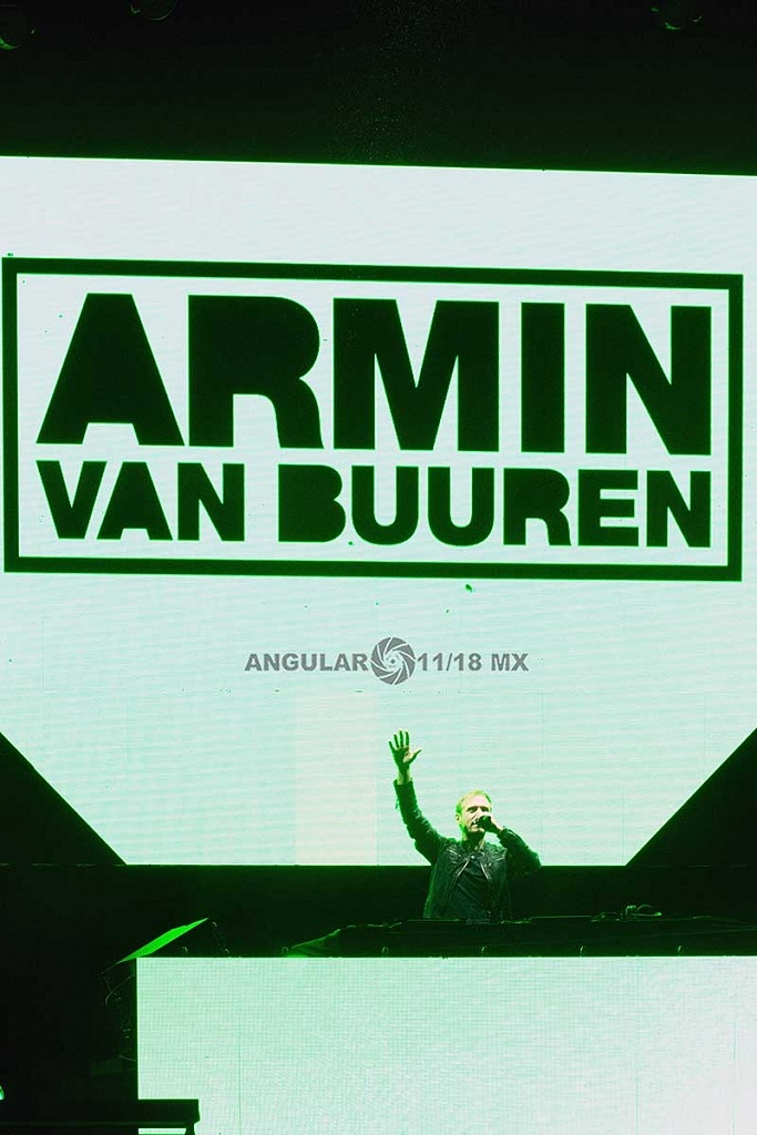 Armin van Buuren, Festival ULTRA México 2018 (Octubre 14)
