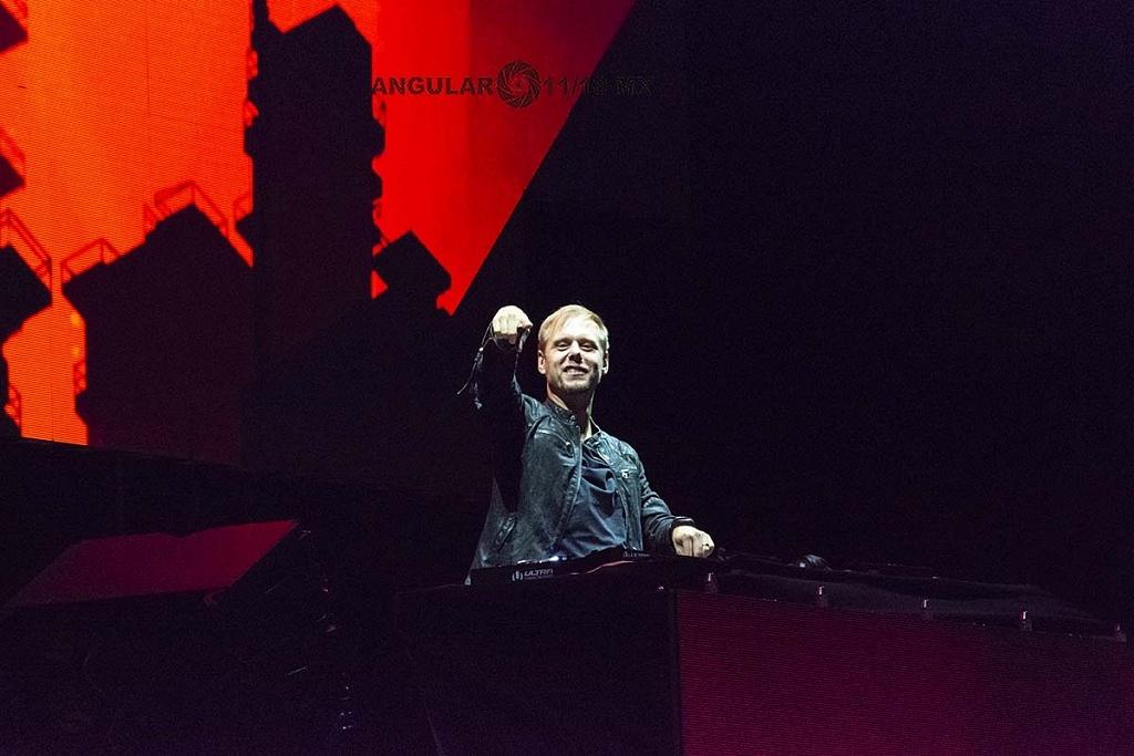 Armin van Buuren, en el Festival ULTRA México 2018