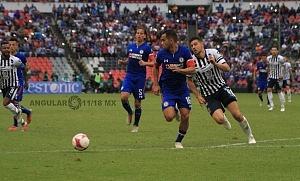 Cruz Azul derrota a Monterrey (2-1) en la Jornada 12 del torneo Apertura 2018 de la Liga, MX