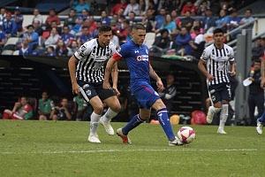 Cruz Azul derrota a Monterrey (2-1) en la Jornada 12 del torneo Apertura, 2018, de la Liga MX