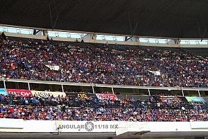 Cruz Azul derrota a Monterrey (2-1) en la Jornada 12 del torneo Apertura 2018, de la Liga MX aficionados en el estadio azteca