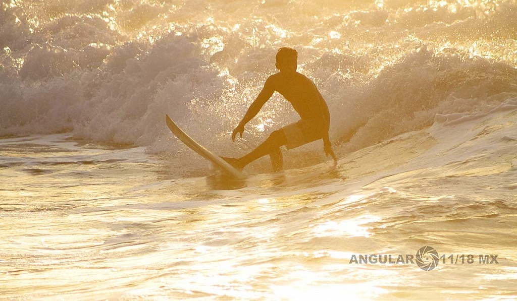 GoPro Surf Open Ixtapa 2018, Playa Escolleras previo a la competencia