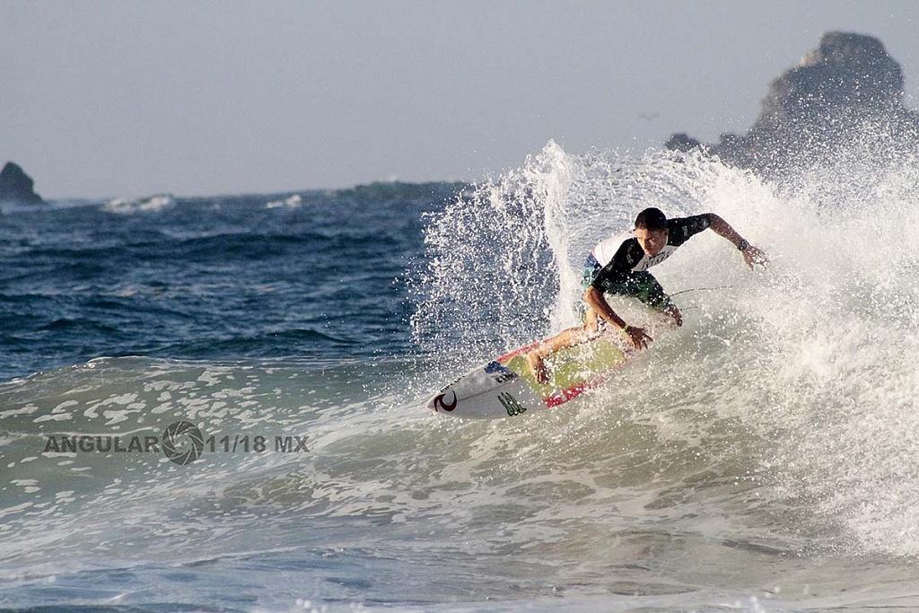 GoPro Surf Open Ixtapa Zihuatanejo 2018, playa escollera Heats Clsificatorios