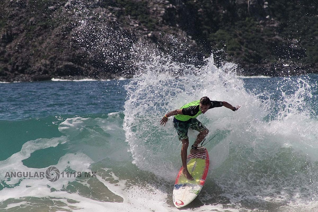 GoPro Surf Open Ixtapa Zihuatanejo 2018 playa escolleras, Heats Clsificatorios