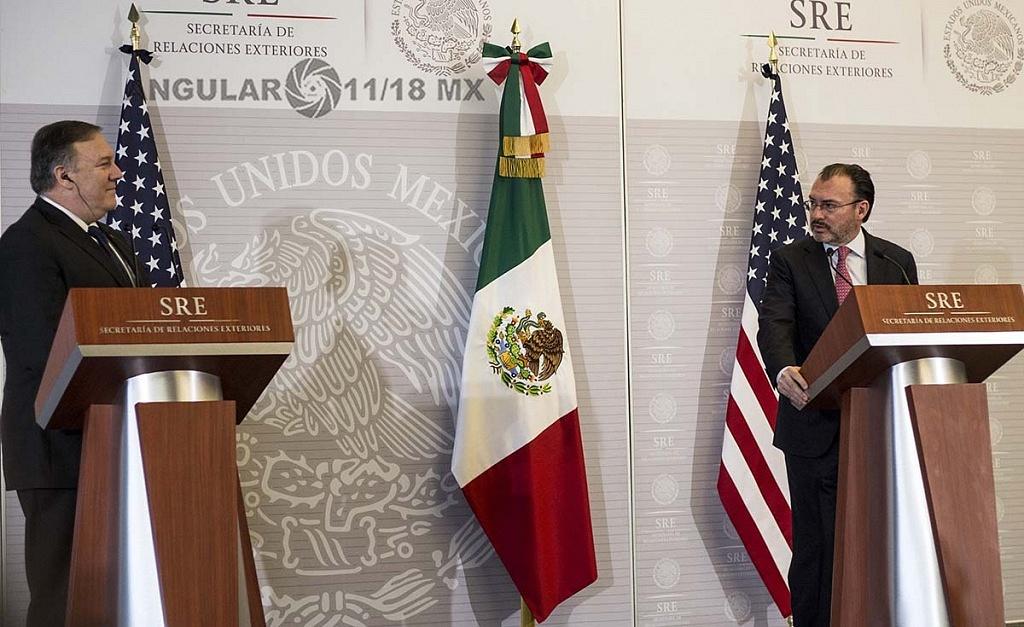 Michael Pompeo Secretario de Estado de Estados Unidos en visita de trabajo, en la Ciudad de México 1