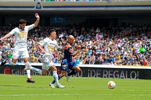 Pumas empata con Puebla 2-2 en la jornada 11 del torneo apertura, 2018