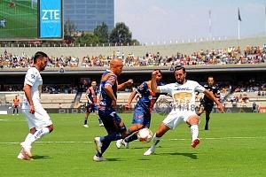 Pumas empata contra, Puebla 2-2, en la jornada, 11, del torneo apertura, 2018