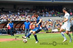 Pumas empata contra el Puebla 2-2 en la jornada 11 del torneo de liga apertura, 2018