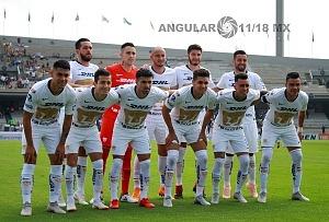 equipo titular de Pumas en la jornada 11 del torneo apertura 2018