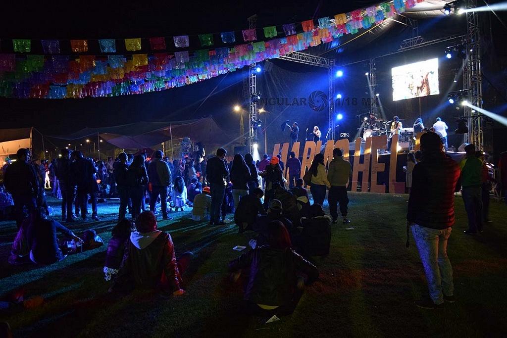 Festival Marichela 2018 Quinta Edición Explanada del Lienzo Charro Hermanos Ramírez, municipio de Querétaro.