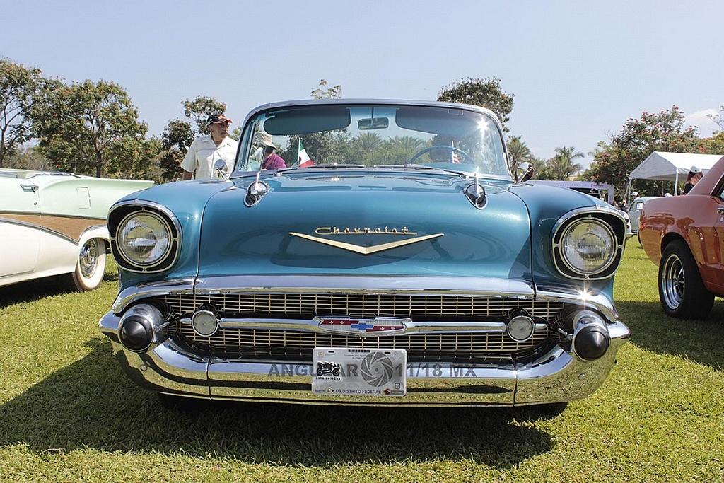 Festival VintageTercera Edición, Jardines de México, exhibición de autos clásicos 2018