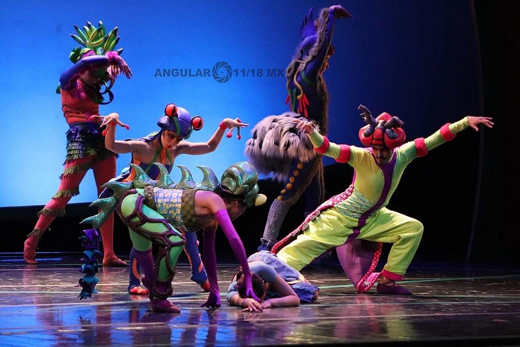 La Compañía Nacional de Danza presento Blancanieves en el Teatro de la Ciudad Esperanza Iris,