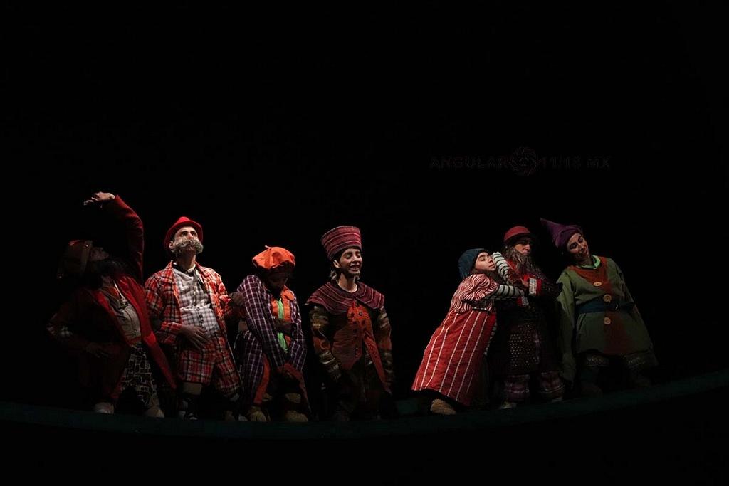 La Compañía Nacional de Danza presento Blancanieves en el Teatro de la Ciudad Esperanza Iris este 17 de Noviembre, de 2018,