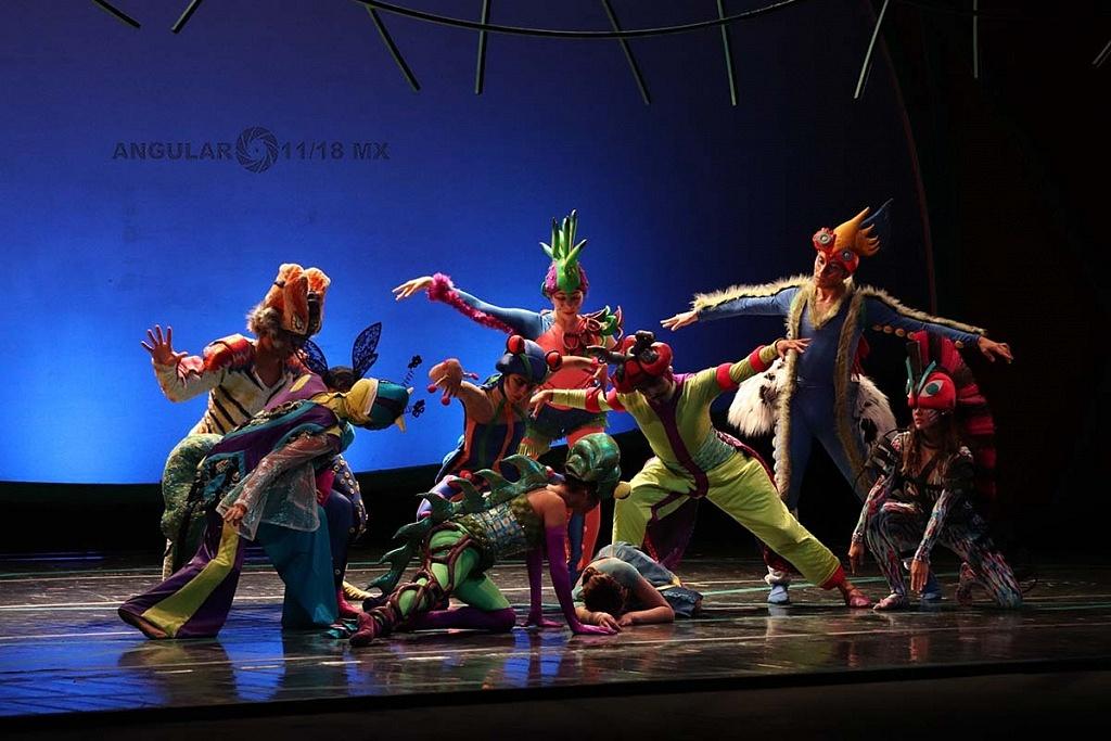 La Compañía Nacional de Danza presento Blancanieves en el Teatro de la Ciudad Esperanza Iris este 17 de Noviembre de 2018