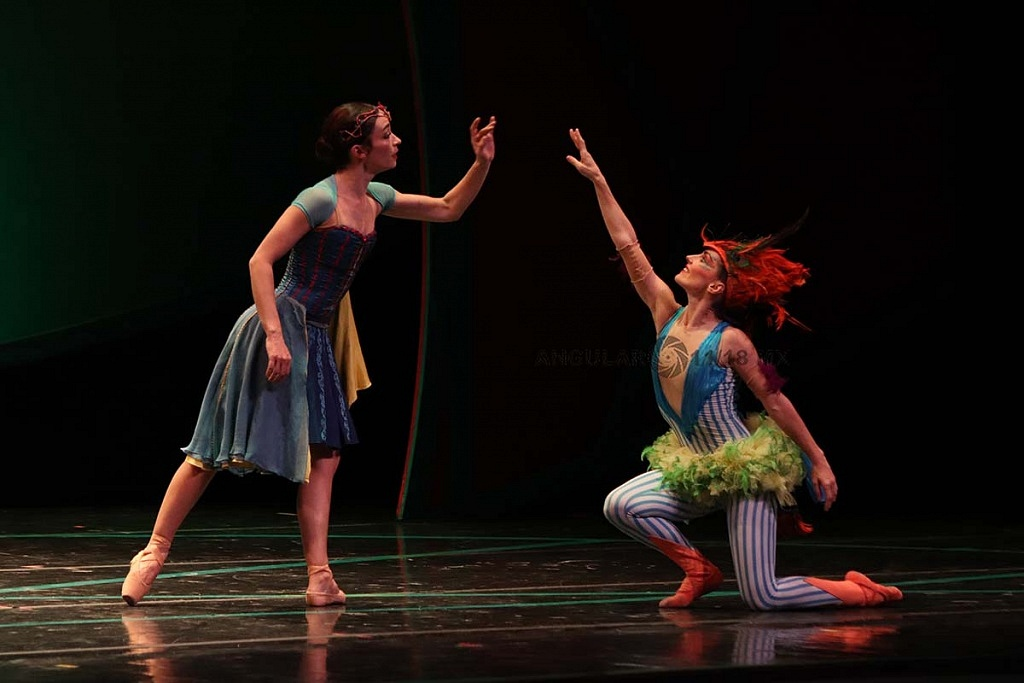 La Compañía Nacional de Danza presento Blancanieves en el Teatro de la Ciudad Esperanza Iris este 17 de Noviembre, de 2018
