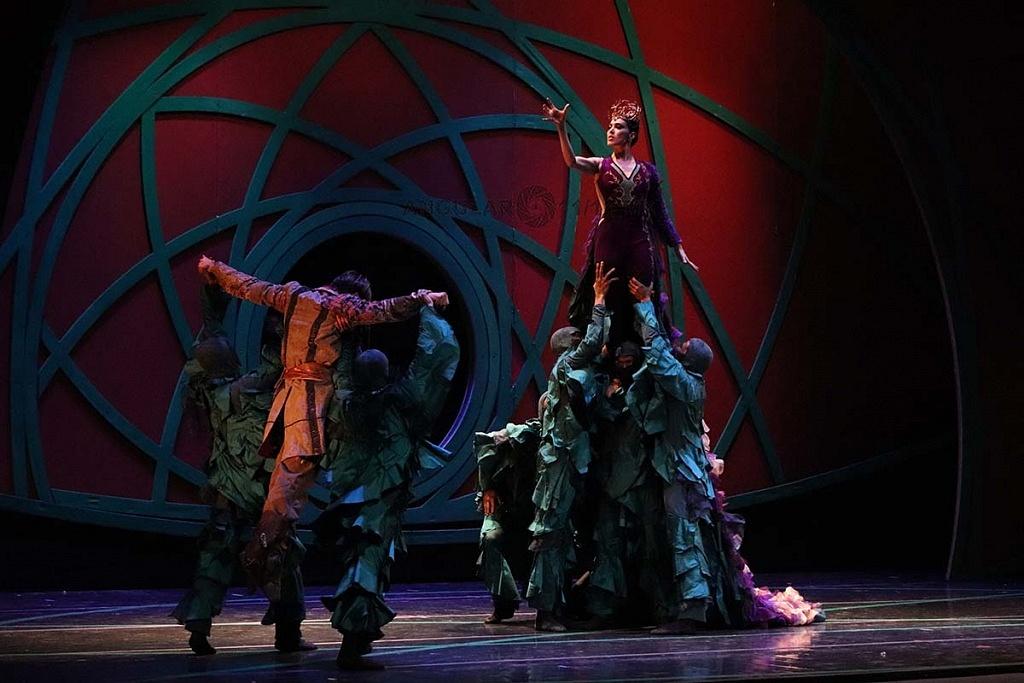 La Compañía Nacional de Danza presento Blancanieves en el Teatro de la Ciudad Esperanza Iris, este 17 de Noviembre, de 2018,