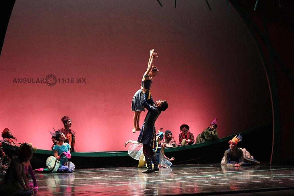 La Compañía Nacional de Danza, presento Blancanieves en el Teatro de la Ciudad Esperanza Iris este 17 de Noviembre de 2018,