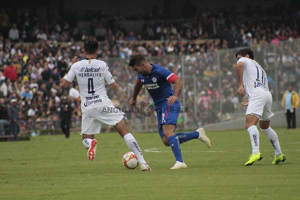Pumas cae en casa frente a Cruz Azul 1-2 en la jornada 15 del apertura, 2018