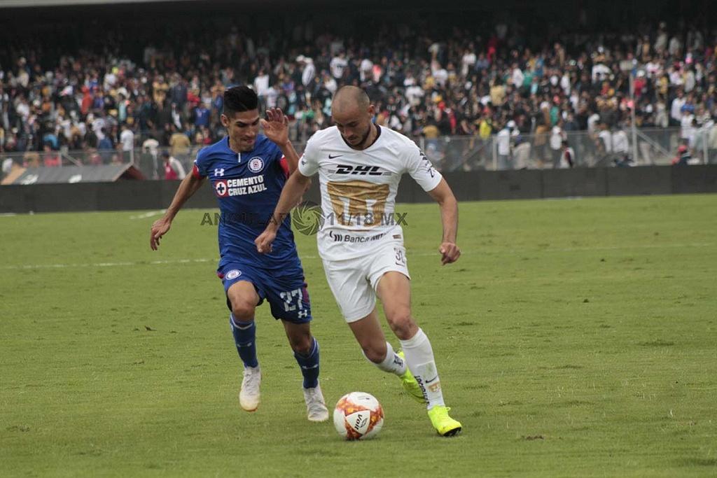 Pumas cae en casa frente a Cruz Azul 1-2 en la jornada 15 del torneo de liga MX, apertura 2018,