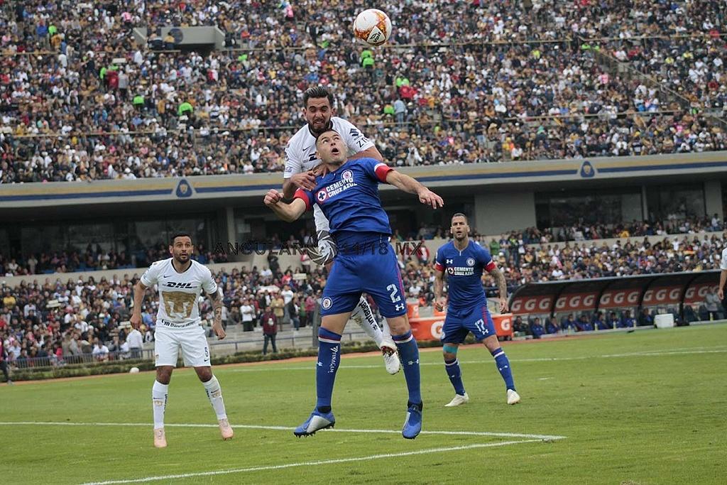 Pumas cae frente a Cruz Azul, 1-2 en la jornada 15 del apertura 2018